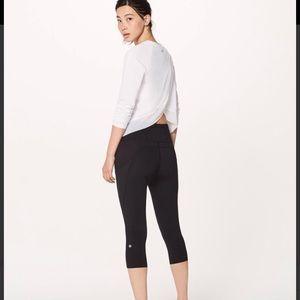 lululemon athletica Tops - Lululemon Quick Pace Long Sleeve Shirt (White)